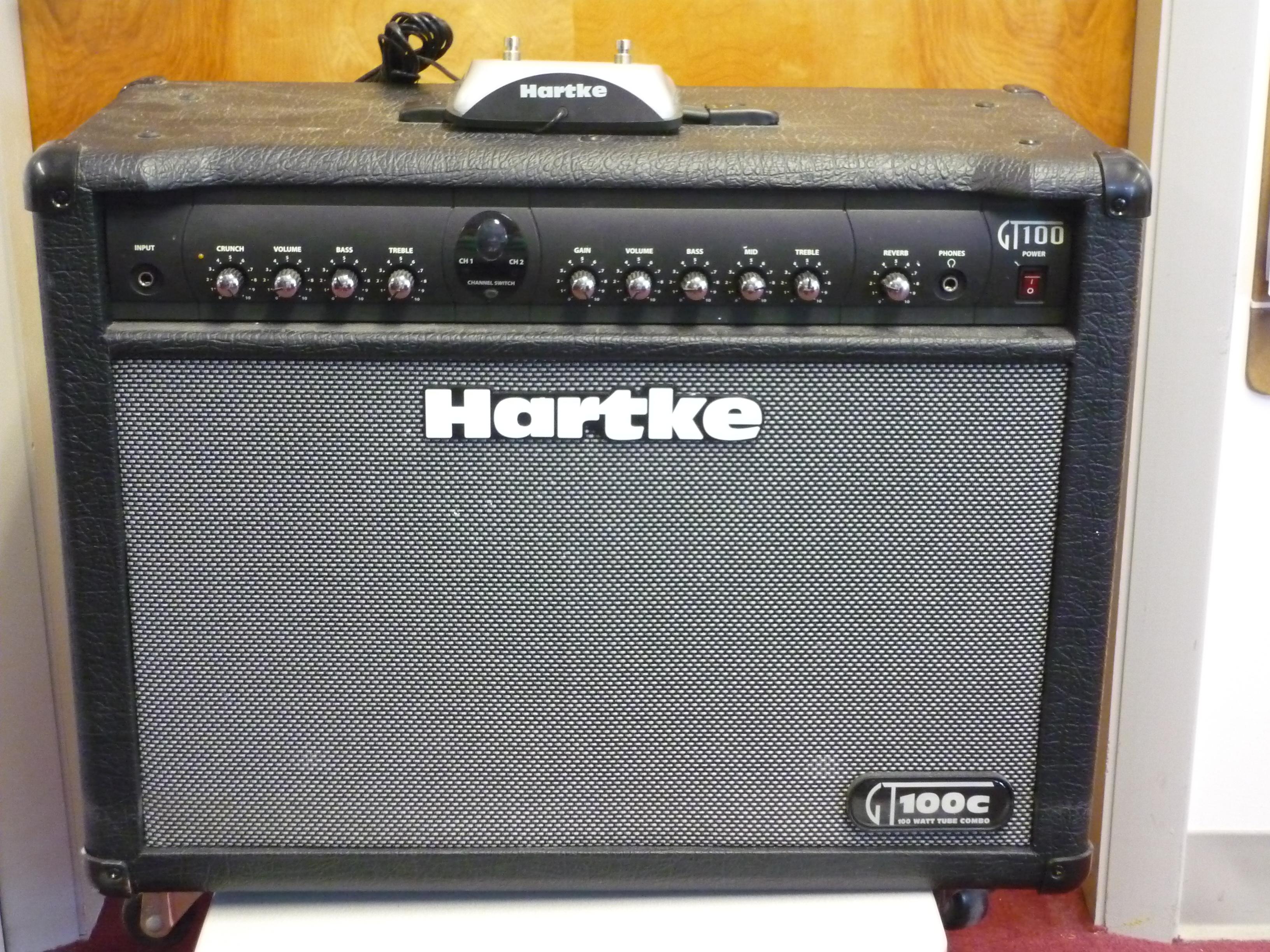 Hartke guitar amp